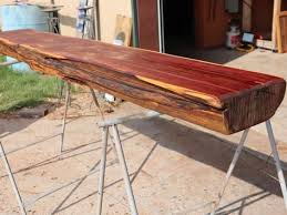 rustic red cedar fireplace mantel