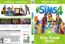 The Sims 4 Kids Room Stuff Custom Case Art