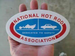 Vintage Nhra Logo Fueler N Car Drag Racing Sticker Decal Ebay