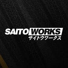 Saitoworks Label Japan Jdm Sticker Drift Stance Tuner Vinyl Die Cut Decal Ebay