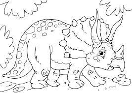 Kleurplaat Dinosaurus Triceratops Gratis Kleurplaten Om Te Printen