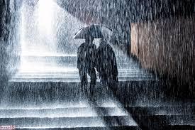 أبيات شعر عن المطر والحب الم حيط