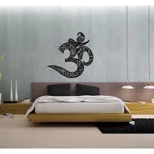 Shop Om Symbol Vinyl Wall Decal Overstock 8569319