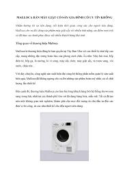 Malloca bán máy giặt có sấy gia đình có uy tín không.pdf
