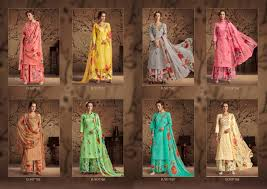 flowery rupali fashion suits