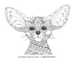 cute fox coloring pages relistik free