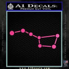 Big Dipper Decal Sticker A1 Decals