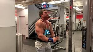 arm blaster tricep pushdowns you