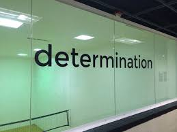 Wall Decal Motivation Determination Wall Decal Etsy Gym Wall Decal Wall Decals Gym Room At Home