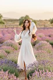Abby Long Sleeve Button Front Dress - Morning Lavender Boutique Dresses