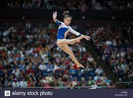 Diana Laura Bulimar (ROU) competes on ...