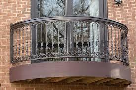 Azek Balcony With Iron Railing Balcony Railing Design Iron Balcony Railing Balcony Grill Design