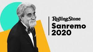 Sanremo 2020: dirige l'orchestra il Maestro Peppe Vessicchio - YouTube