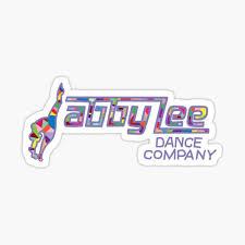 Abby Lee Dance Company Sticker By Courtneygraben Redbubble