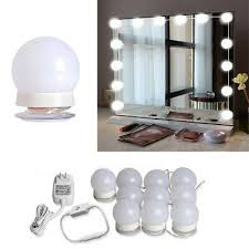 mirror lights 10 dimmable led makeup
