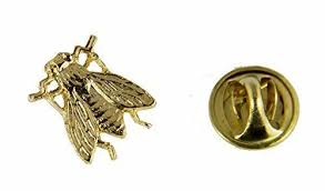 6030521 ble bee lapel pin tie tack