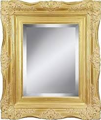 gold ornate baroque french style framed