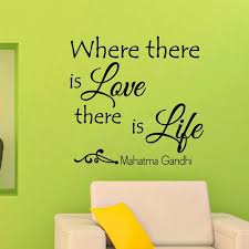 Wall Decals Quotes Mahatma Gandhi Where There Is By Wisdomdecals Vinyl Wall Decal Quote Wall Quotes Decals Wall Decals
