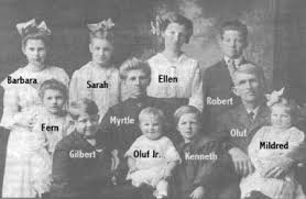 Oluf & Myrtle (Tuttle) Olson Biography and Photos