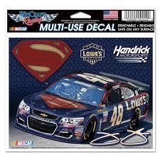 Hendrick Motorsports Jimmie Johnson 48 Superman Multi Use Decal