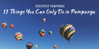 13 things you can only do in panga