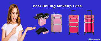 top 10 best rolling makeup case