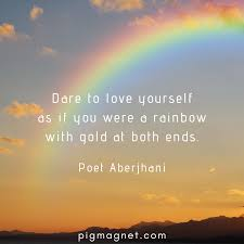 inspirational rainbow quotes to motivate you through storms of