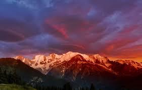 mont blanc monte bianco