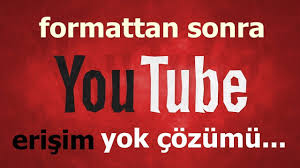 Windows Xp Formattan sonra Youtube Açılmıyor Çözümü - YouTube