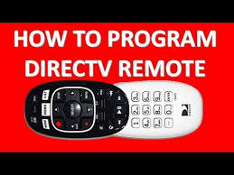 program directv remote genie receiver