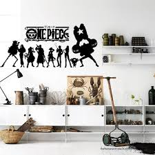 Onepiece Japanese Anime Wall Decal Stickers Decor Modern Stickers Vinyl Decal Sticker Decor Simple Wall Decor Wall Decal Sticker