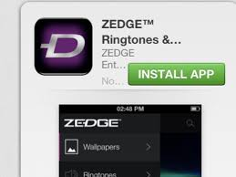 zedge app on iphone needs tonesync