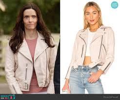 lois lane s blush pink leather jacket