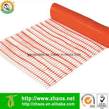 China Orange Plastic Construction Safety Fence 1 2 30 4m China Outdoor Plastic Fence Safety Fence