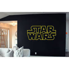 Shop Star Wars Logo Decal Sticker Atat Death Art Wall Decals Wall Sticker Decall Size 44x60 Color Black Overstock 13693296