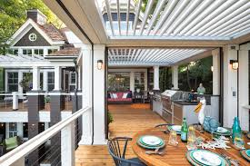 Louvered Roof Systems | Retractable Pergola Canopy | Marygrove