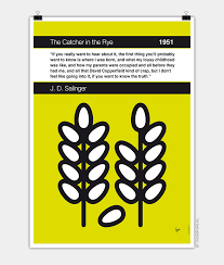 no my the catcher in the rye book icon poster chungkong