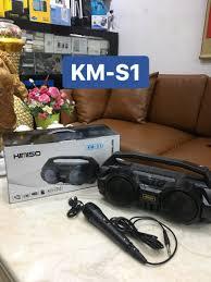 loa bluetooth karaoke Kimiso KM-S1-KM-S2 kèm míc - KM-S1