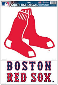 Amazon Com Boston Red Sox Removable Car Truck Window Wall Decal 11x17 Automotive Decals Sports Outdoors