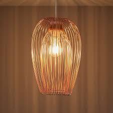 jonas copper wire light shade d 220mm