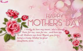 Poetry: Happy Mothers Day Greetings ...