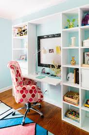 Lowes Knoxville Tn Contemporary Kids And Ben Finch Blue Walls Bold Patterns Built In Book Shelves Childrens Room Eclectic Finch Photo Kids Desk Natalie Clayman Interior Design Pink And Blue White Trim