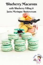 blueberry macarons recipe no fail