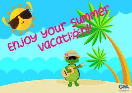 Happy summer vacation! Bonnes vacances... - George Washington ...
