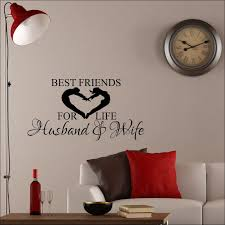 Large Wall Sticker Best Friends For Life Husband And Wife Love Heart Transfer 232525834831 2 Bespoke Graphics