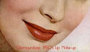 1950s lip make up lipstick vine