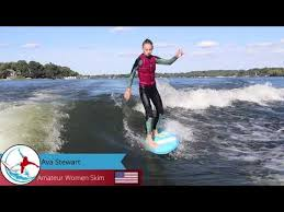 2020 Online WRS Series Event #4 - Amateur Women Skim - Ava Stewart - YouTube