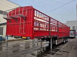Stake Cargo Trailer Fence Trailer Side Wall Trailer Flatbed Trailer With Wall