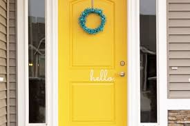 Hello Hola Goodbye Adios Vinyl Door Decals Jane