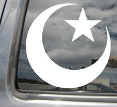 Star And Crescent Moon Ottoman Empire Islam Turkey Car Vinyl Decal Sticker 08025 Ebay